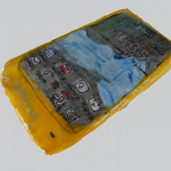 3D SmartPhone Sony Xperia - 9 years old