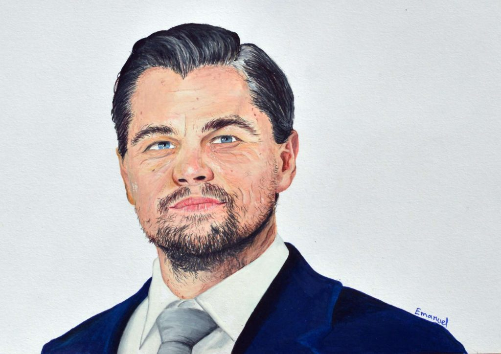Drawing Leonardo di Caprio