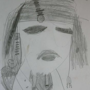 One of my first Pirates of Caribbean at the age of 5