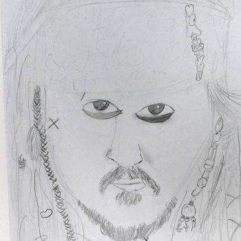 Jack Sparrow - Pirates of Caribbean, 8 years old