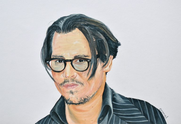 Johnny Depp, actor of Pirate of Caribbean