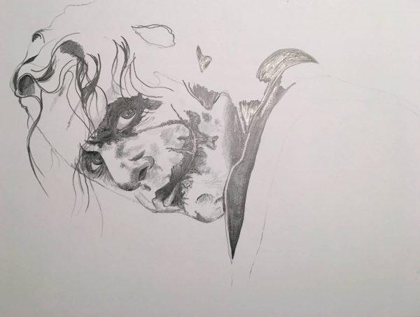 Portfolio Drawing The Joker Pencil Emanuel Schweizer