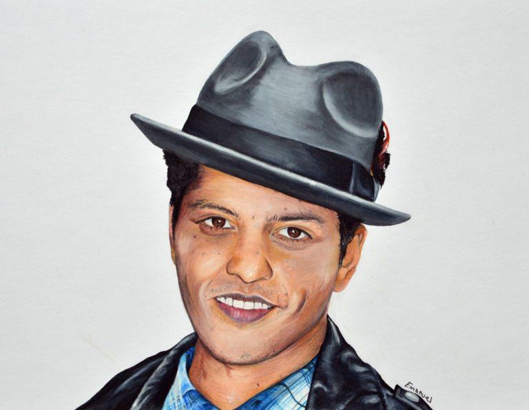emanuel schweizer artist - Bruno Mars
