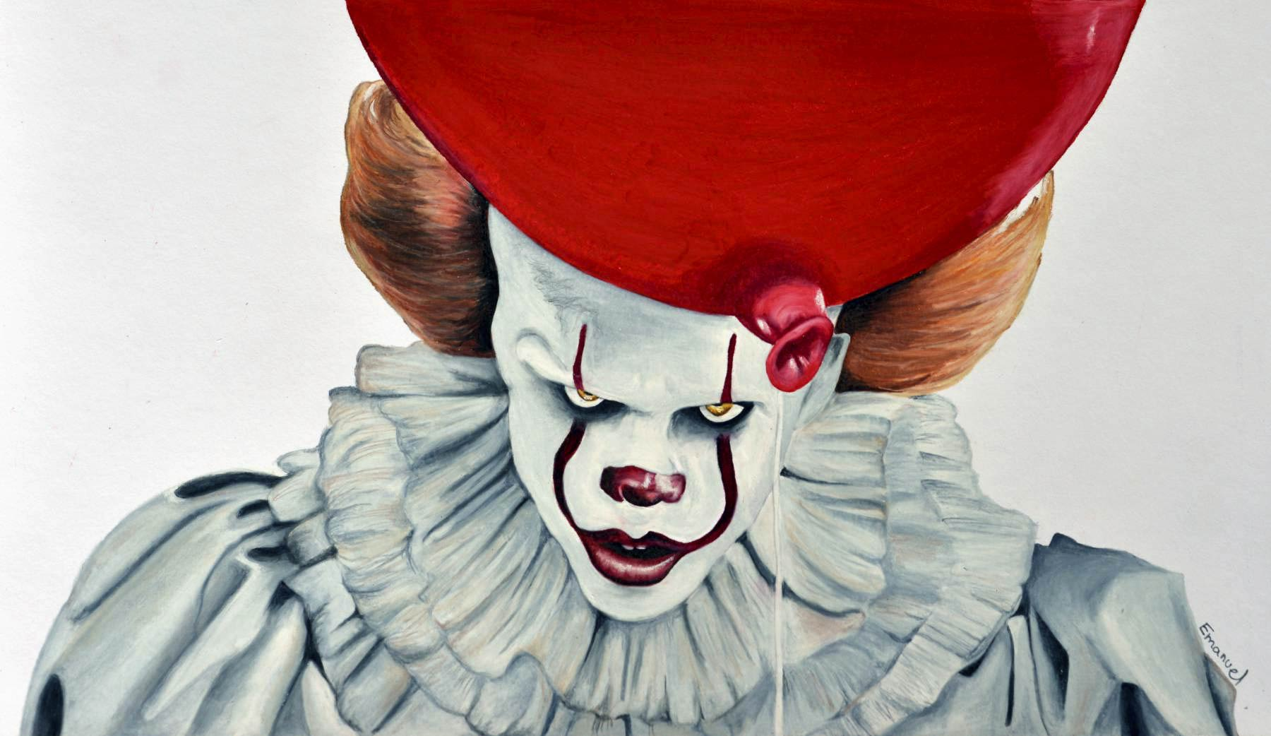 23+ Drawn Pictures Of Pennywise The Clown Background