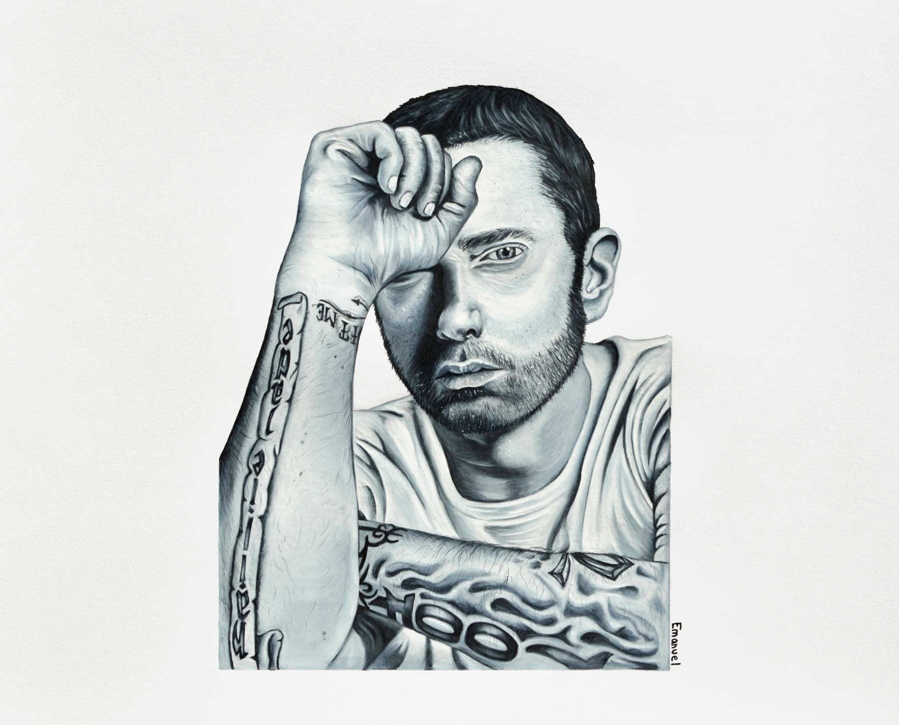 Eminem by emanuel schweizer, artist