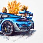 Porsche GT2 RS by emanuel schweizer
