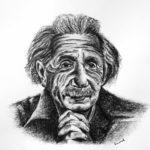 Albert Einstein interpreted by emanuel schweizer