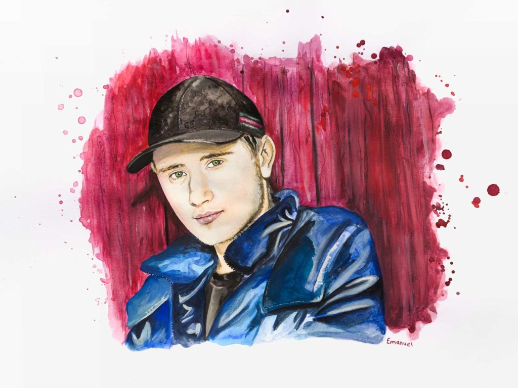 Einar Swedish rapper by emanuel schweizer