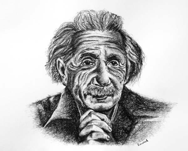 Albert Einstein by emanuel schweizer