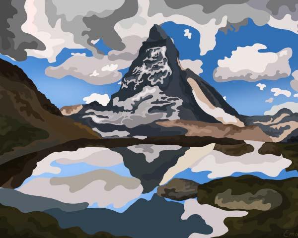 Matterhorn by emanuel schweizer