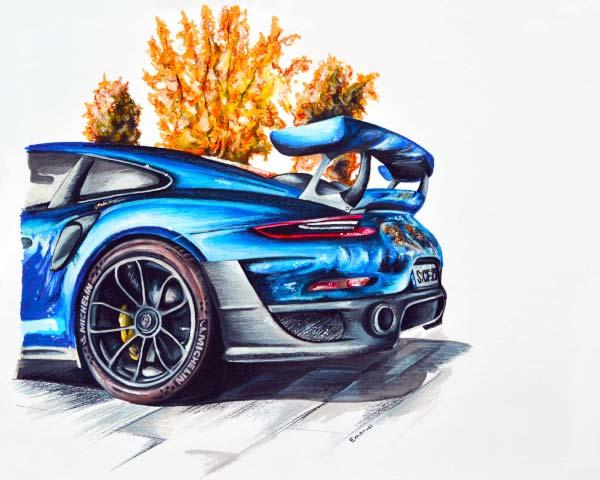 Porsche GT2 by emanuel schweizer